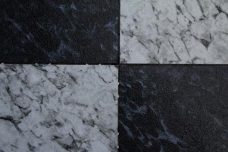 Bergo Bodenfliese Typ EXCLUSIVE Im Wintergarten - Fliesen schwarz marmoriert